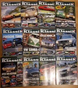 Motor Klassik Jahrgang 2006 komplett Hefte 1-12 Zeitschrift Automobile Oldtimer
