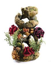 Rock Column with Coral & Artificial Plants BiOrb Aquarium Fish Tank Ornament