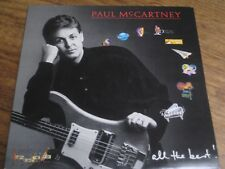 PAUL McCARTNEY~ ALL THE BEST~ GATEFOLD 2 x VINYL LP~ PARLOPHONE PMTV1~1987~EX/EX