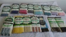 Vintage 26 Assorted Colors Stretch Lace 3/4 Inch Wide NIP