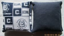 Connecticut Huskies Cornhole 8 Bag set FREE SHIPPING! Baggo U Conn University