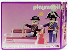 TRAMP CARABINIERI BANK PLAYMOBIL PINK SERIES 5508 v`90 to VICTORIAN