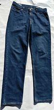 John B. Stetson 1520 Men's Straight Dark Wash Denim Blue Jeans 36W x 36L