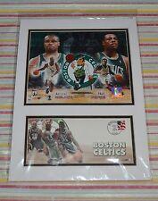 BOSTON CELTICS~ANTOINE WALKER~PAUL PIERCE~RARE AUTHENTIC NBA POSTAL ISSUANCE~NEW