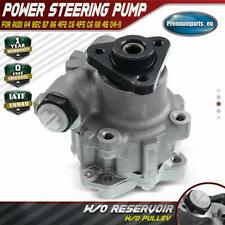 New Power Steering Pump w/o Pulley for Audi A4 8EC B7 A6 4F2 C6 A8 4E 4F0145155