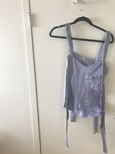 Sass & Bide beaded lavender top size small