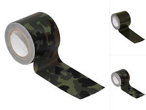 MFH Tarnband Selbsthaftend Tarn-Band Camouflage Gewebeband 5cm x 5m