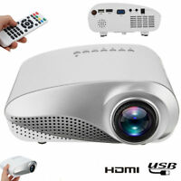 3000Lumen 1080P A LED Home Projektor Heimkino Beamer Theater USB AV TV VGA HDMI