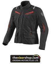 Blousons noirs textiles avec doublure taille L pour motocyclette