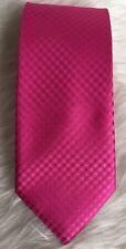 Geoffrey Beene Mens Necktie Pink Hand Made Polyester