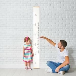 """Kids Growth Chart """"you are loved beyond measure""""  Canvas wall hanging by MORXY"""