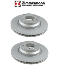 NEW BMW 330i 330xi X1 Pair Set of 2 Front Vented Disc Brake Rotors 34116854999