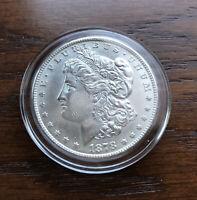 1878-S MORGAN SILVER DOLLAR IN TOP BU CONDITION!!