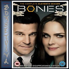 Bones The Complete Eleventh Season DVD Region 2