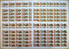 50 x Tonga 2016 Mi. 2074-77 ** MNH Gandhi, Animals Leopard Tiger Mi. 1150,-- €