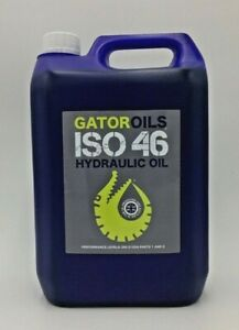 5 Litres Gator ISO 46 Hydraulic Oil Virgin Grade DIN 51524 part 1 and 2, 5L