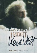 The Hobbit The Battle Of The Five Armies, Ken Stott 'Balin The Dwarf' Autograph