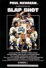 66c53cc7755 SLAP SHOT Movie Poster  Licensed-NEW-USA  27x40
