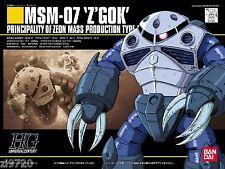 Bandai HGUC 006 GUNDAM MSM-07 Z'GOK 1/144 scale kit