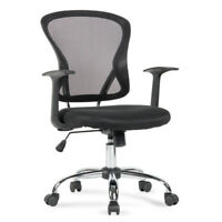 Ergonomic Midback Computer Mesh High Back Executive Computer Office Chair Black