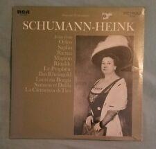 Schumann-Heink LP Arias Opera singers sealed 1969 mono RCA Victrola VIC-1409