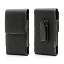 "Samsung Galaxy S5 S6 Edge iPhone 6 4.7"" Flip Holster Case Magnet Belt Gürtelclip"