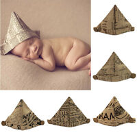 Newborn Toddler Baby Girls Boys Infants Soft Handmade Photography Props Caps Hat