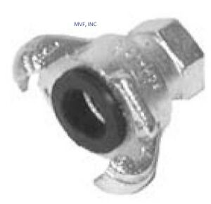 """3/4"""" Female NPT Universal Crowfoot Coupling Chicago Fitting Plated Iron <SFF075"""