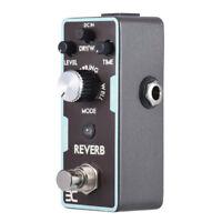 Mini ENO Reverb Guitar Effect Pedal True Bypass Magnalium alloy Black Hot