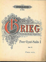 Grieg - Peer Gynt-Suite I Opus 46 - piano solo