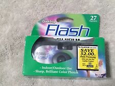 "FUJI FILM "" QUICK-SNAP"" FLASH 27 EXPOSURES INDOOR/OUTDOOR- SEALED EXP 2005-10"