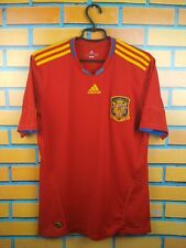 Spain soccer jersey Large 2010 2011 home shirt P47902 football Adidas