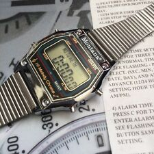 Reloj Digital de Colección melodía de varios 1980s Montana nos