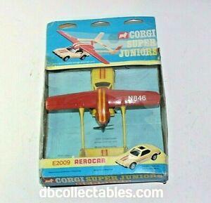Corgi Juniors 2009 Aero Car, VNM in Fair Original Box, Very Rare