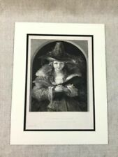 Traditional Portrait Original Art Prints