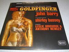 OST - Goldfinger - LP Vinyl // Neu & OVP // JOHN BARRY // JAMES BOND // 007