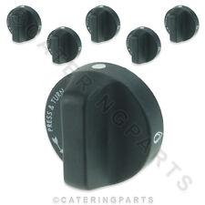 Lincat kn159 Set completo di 6 X FORNELLO BRUCIATORE manopole di controllo gas forno intervallo slr6 slr9