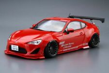 Aoshima 1/24 Model Tuned Car Kit Toyota 86 Greddy & Rocket Bunny w/Enkei Wheel