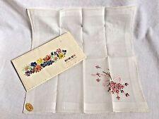 Kreier Handkerchief in Presentation Envelope w/ Sticker Switzerland Vintage