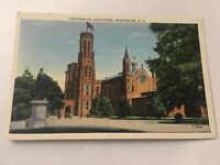 Vintage Postcard Unposted Smithsonian Institute Washington DC