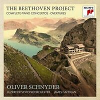 THE BEETHOVEN PROJECT-COMPLETE PIANO CONCERTOS/OVERTURES -O. SCHNYDER  3 CD NEU