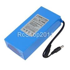 Portable DC 12V 20000mAh Li-ion Super Rechargeable Battery Pack w/ US Plug