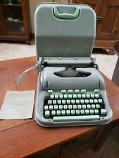 Vtg 1961 Hermes 3000 Paillard Portable Manual Typewriter All Original Works