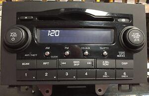 Honda CR-V  Cd Radio With Code Uk 🇬🇧 Seller