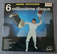 Andre Verchuren, 6 millionième disque, LP - 33 tours