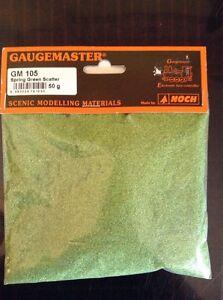 Gaugemaster GM105. Spring Green Scatter. 50g Pack.