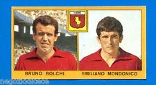 CALCIATORI PANINI 1969-70 - Figurina-Sticker - BOLCHI-MONDONICO - TORINO -Rec