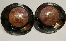 Lot of 2 Milani Baked Eyeshadow #615 FUSION~net Wt 0.05 , Made In Italy .
