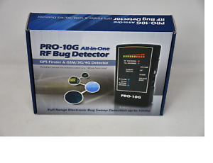 Pro-10G All-In-One RF Bug Detector
