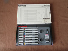 KOH-I-NOOR RAPIDOGRAPH TECHNICAL DRAWING PENS SET OF 7 SLIM PACK New Old Stock